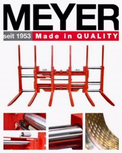 The NEW MEYER G-Serie Multipallethandlers